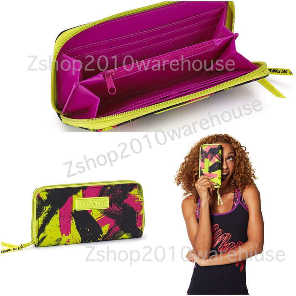Zumba BE THE BOSS WALLET ***SOLD OUT!!!  *Purse *Bag Tote fr. Orlando CONVENTION #ZumbaFitness #Envelope