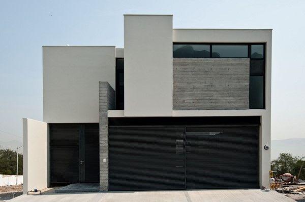 Casas minimalistas de dos plantas todo fachadas a n for Plantas casas minimalistas