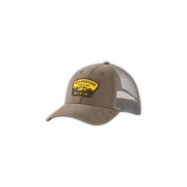 The North Face Women s National Park Trucker Hat (37 CAD) ❤ liked on  Polyvore 2e98304dd79
