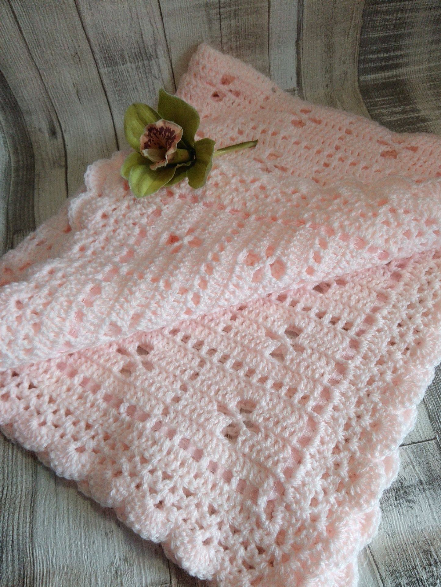 Vintage Style Hand Crocheted Call the Midwife Baby Blanket | Blanket ...