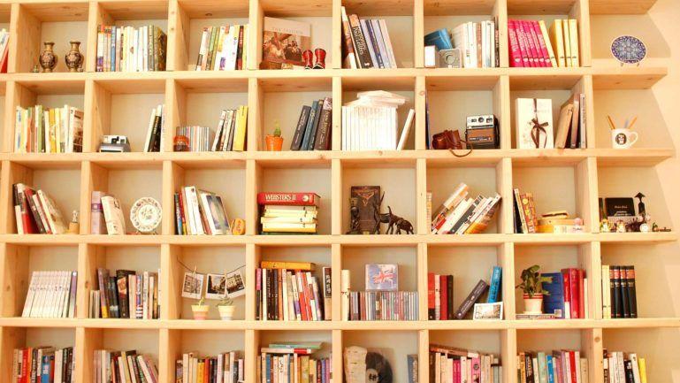 Bookcase Zoom Background Download Free Virtual Backgrounds Rak Buku Rak Buku