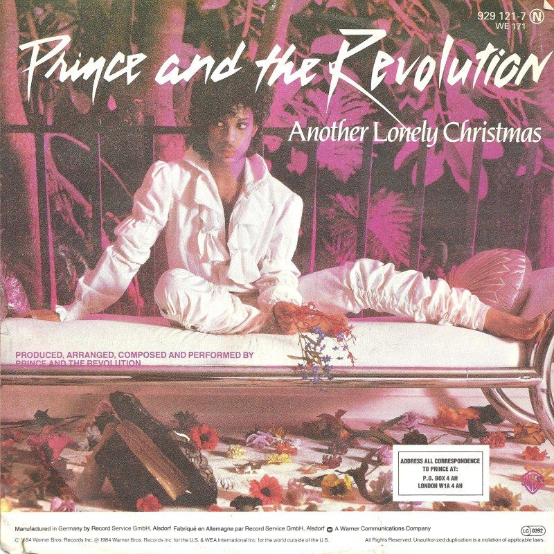 Prince & The Revolution - Another Lonely Christmas | Music ...