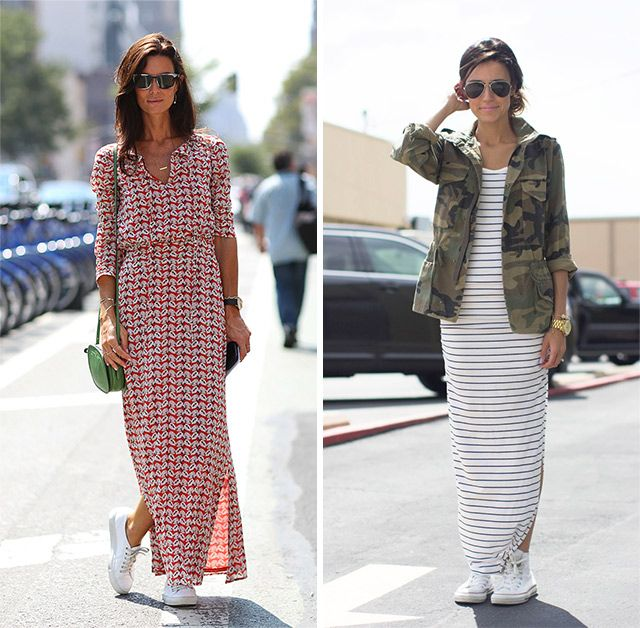 How to Wear the Sneakers Trend