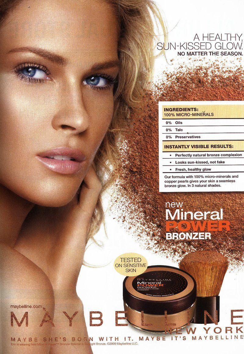 Coffee break erin duh s everything - Maybelline Maybelline Mineral Powder Bronzer F W 09 Model Erin