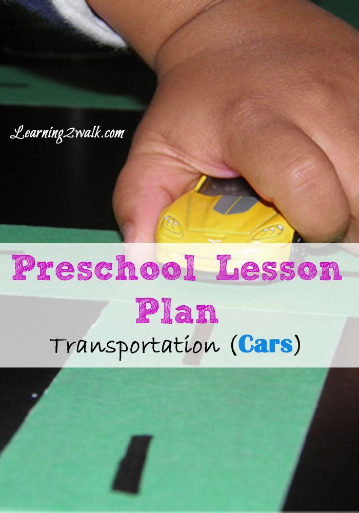 Photo of Preschool Lesson Plan: Transportation- Cars