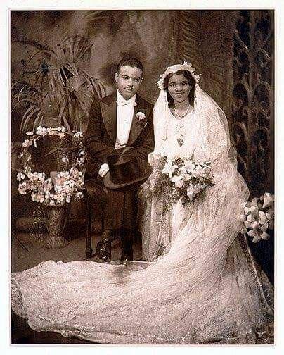 Harlem Renaissance Weddings Vintage Black Glamour Vintage Wedding Photos Black History