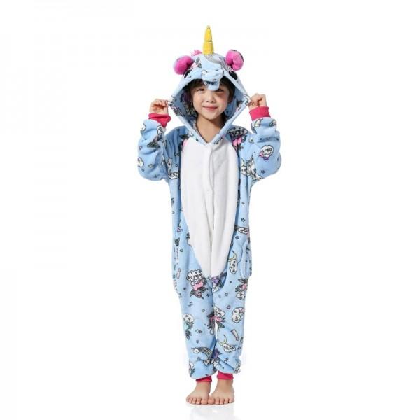 Unicorn Pony Style Onesie Blue Unicorn Onesie Unicorn Costume Clothes