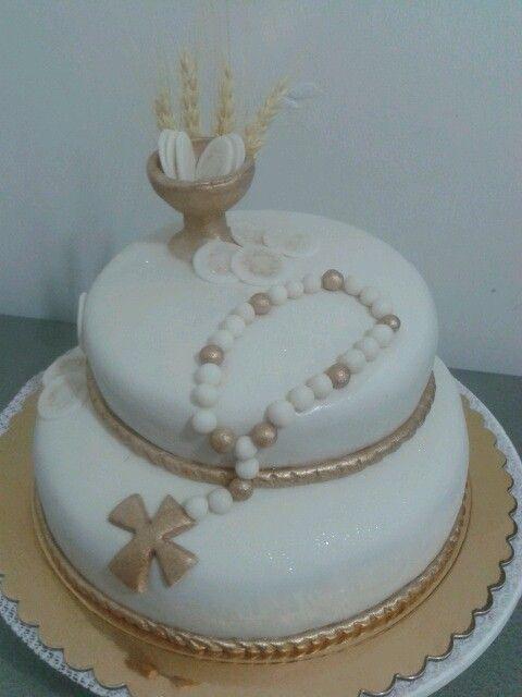 pasteles de primera comunion pinterest