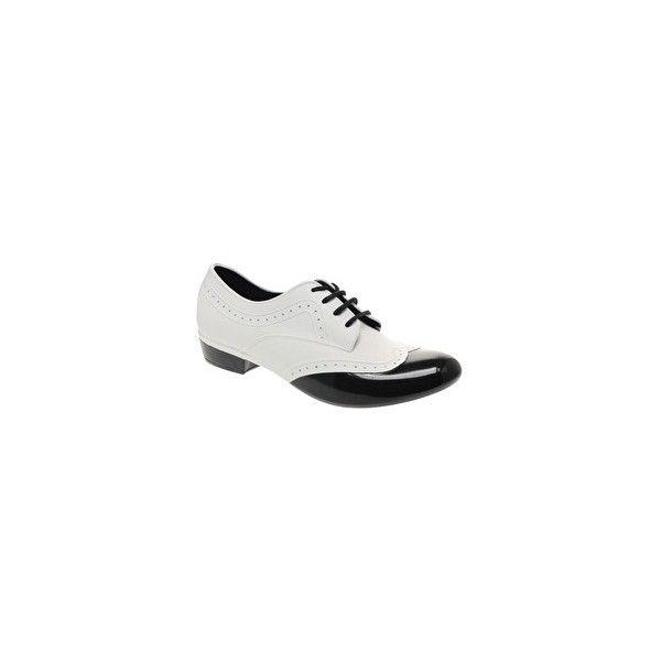 017524de929 Melissa Joy + A.H Lace-Up Brogue Shoes featuring polyvore