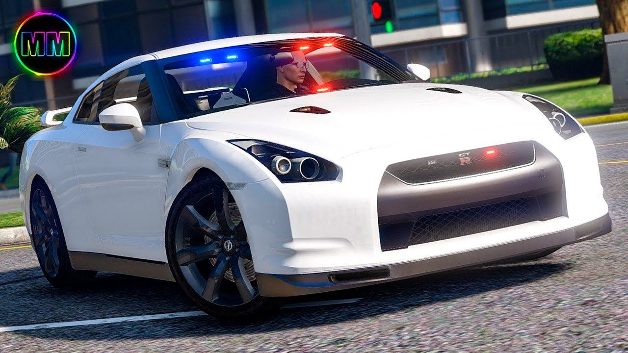 GTA 5 - LSPDFR Sports Car Patrol - GTR Police Car! | gta 5