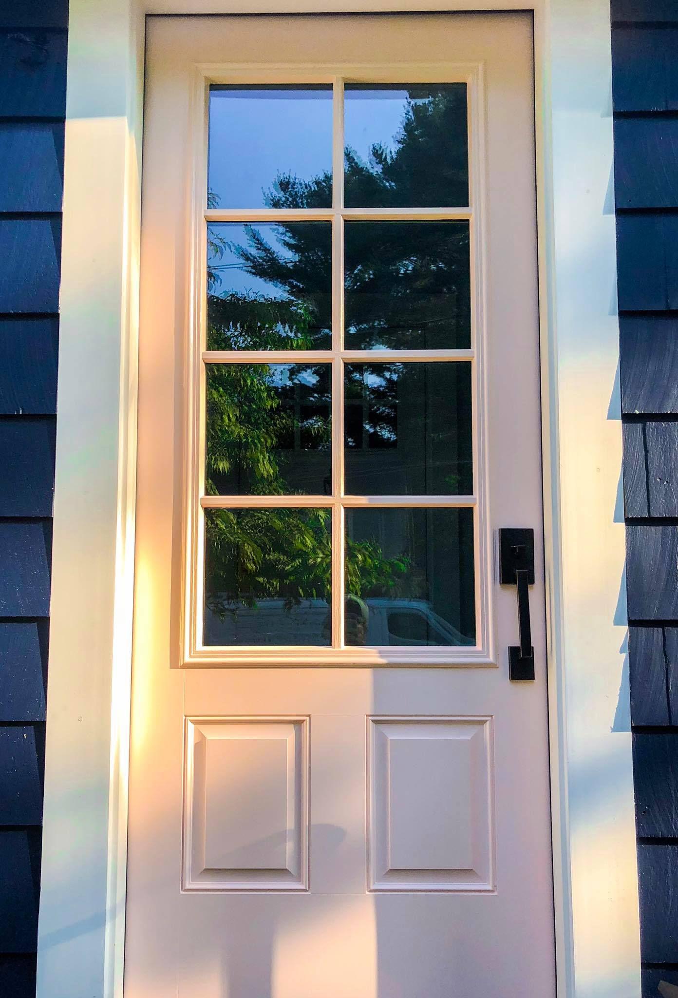 Door Painted In Wellesley Ma Painted Doors Window Projects Windows And Doors