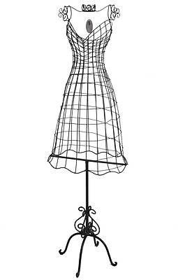 style ancien mannequin buste de couture en fer forg sur. Black Bedroom Furniture Sets. Home Design Ideas