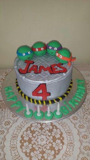 Happy 4th birthday james ninjaturtles partycakefun happy 4th birthday james ninjaturtles partycakefun chocmudwithchocganache thecheapjerseys Images