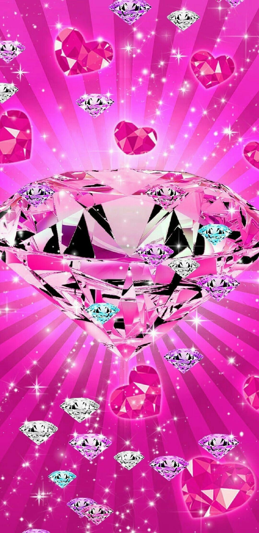Best Of Shining Wallpaper in 2020   Pink diamond wallpaper ...