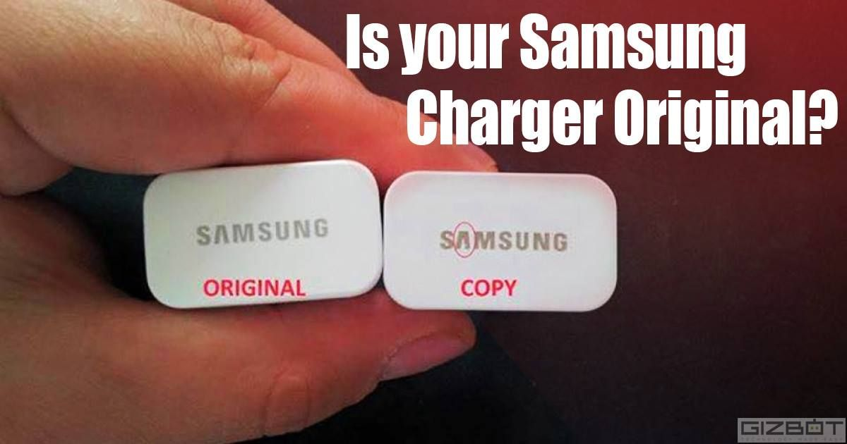 5 ways to spot a fake samsung smartphone charger