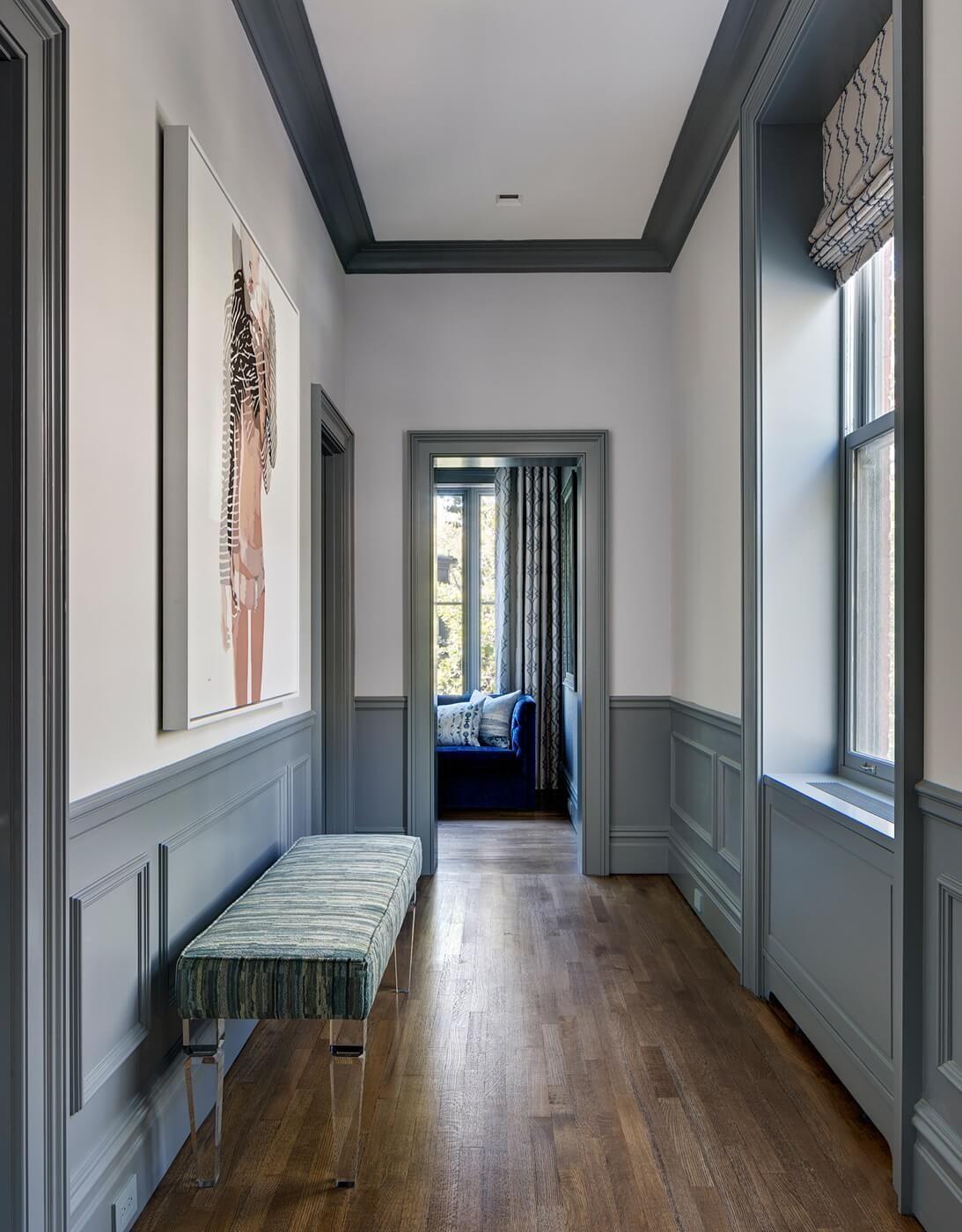 Soubassement Couloir En Bois interior design ideas brooklyn cwb architects brooklyn