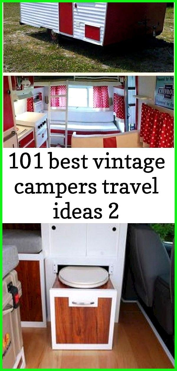 101 best vintage campers travel ideas 2 Vintage CampersTravel Trailers 175 32 Stunning Ideas For Ca