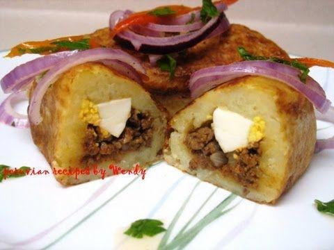 Papas Rellenas Con Carne Stuffed Mashed Potatoes With Meat Filling Papas Rellenas De Carne Recetas Con Carne Picada Recetas Con Papas