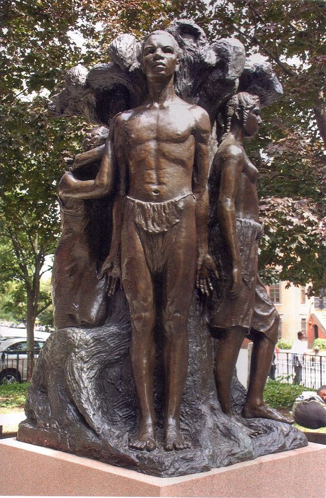 A Picture of Mary Turner's Sculpture,'Emancipation'