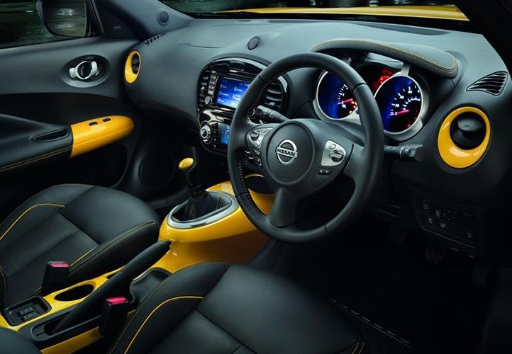 nissan juke personalised yellow interior accents colour vehicles pinterest nissan juke. Black Bedroom Furniture Sets. Home Design Ideas