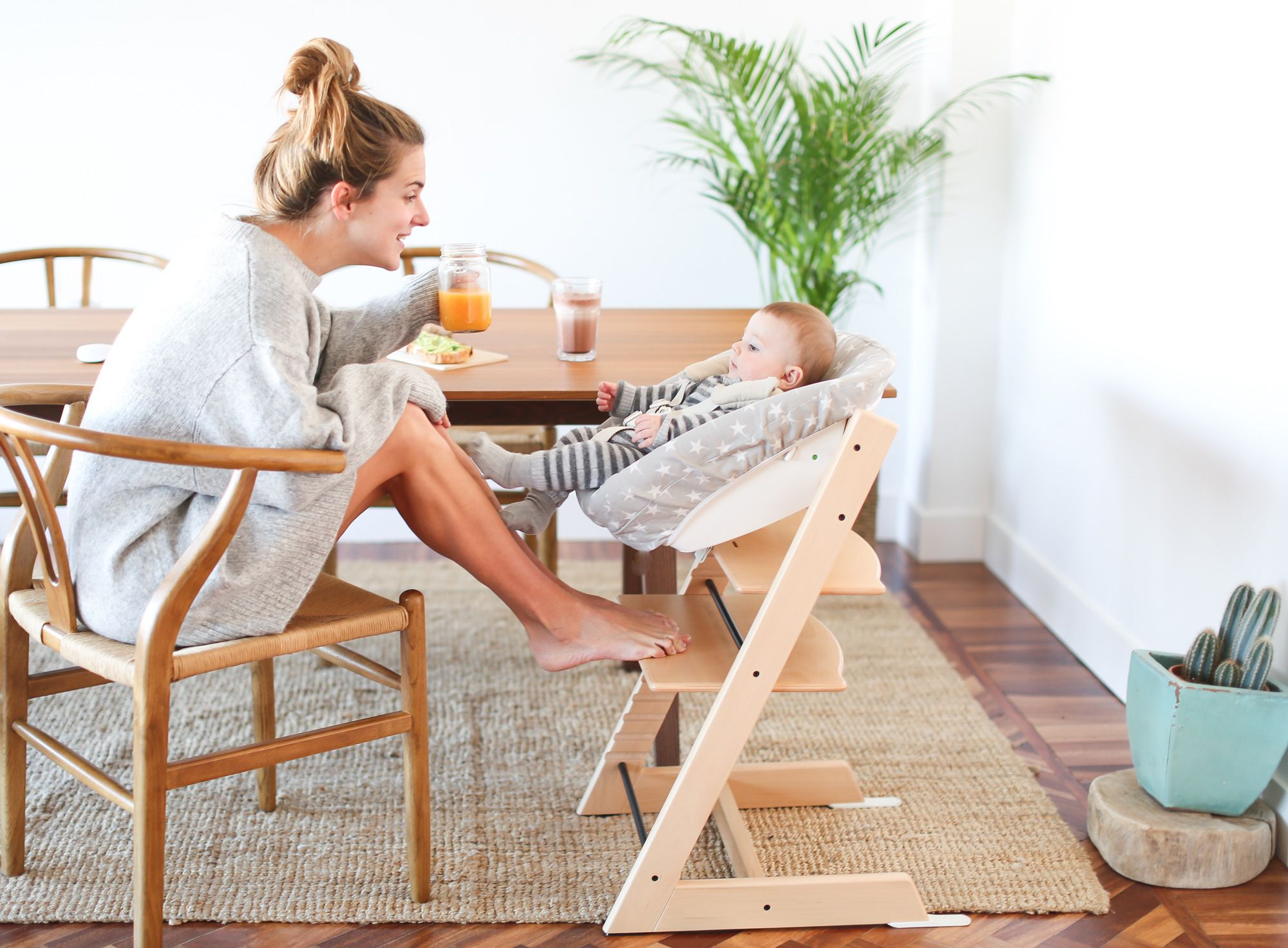 A modern high chair that grows with your child too Award winning