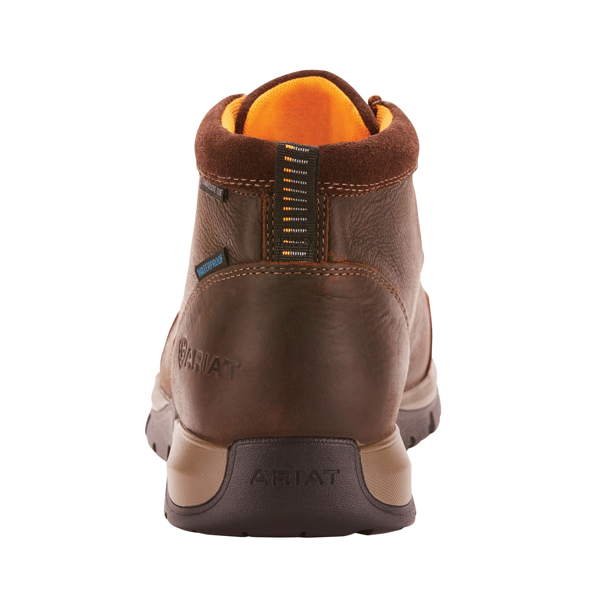 Edge Lte Moc Waterproof Composite Toe Work Boot Composite Toe Work Boots Dark Brown Leather Brown Leather