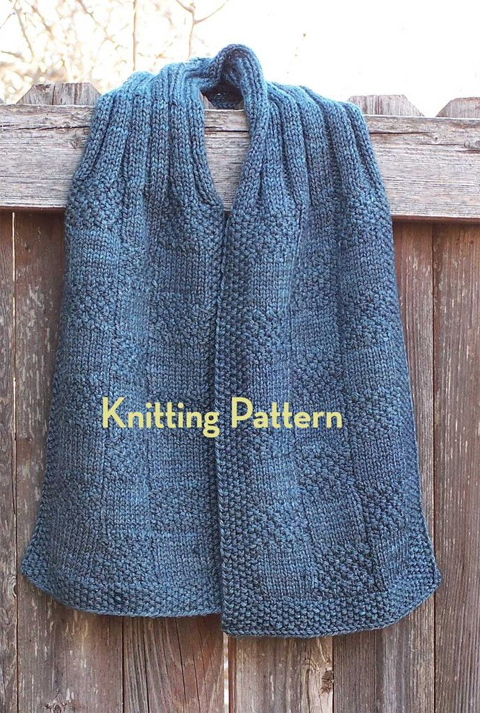 Pattern Seaman S Scarf Knitting Scarves Knitting Patterns