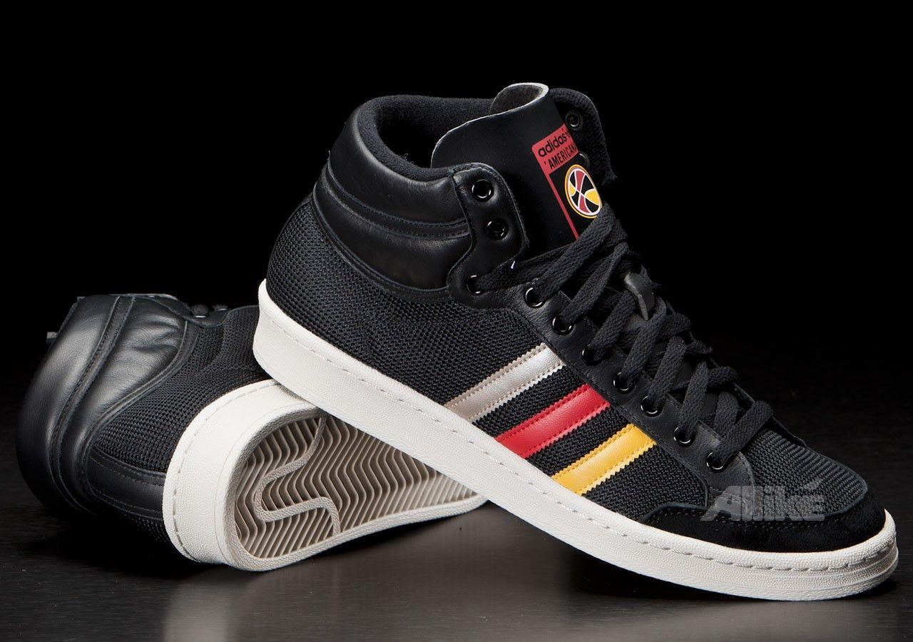 superior quality 29397 9e346 Adidas Americana Hi 88 Black Red