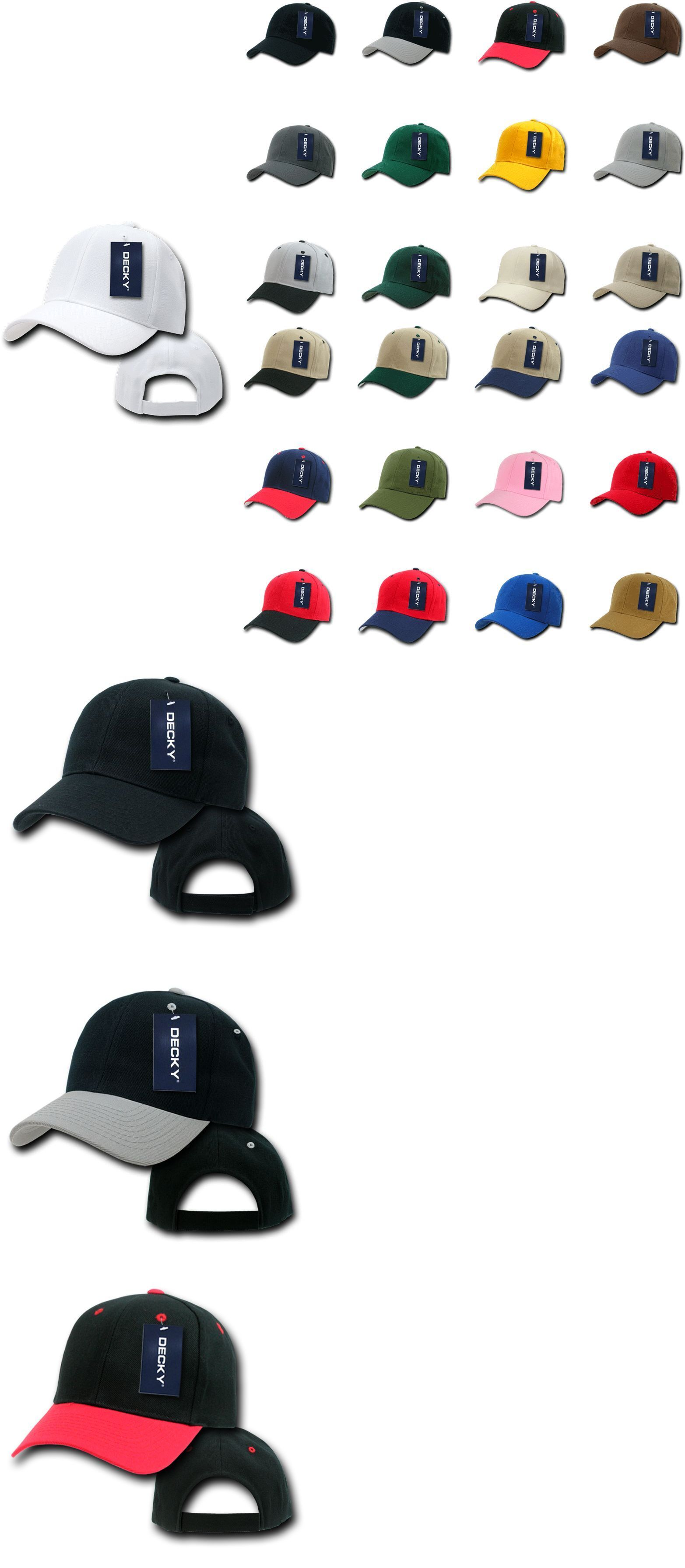 Mens Accessories 45053  20 Lot Decky Deluxe Polo Blank Baseball Hats Hat  Caps Cap Wholesale Lot -  BUY IT NOW ONLY   82.99 on  eBay  accessories   decky ... 9dd2bf0f25e