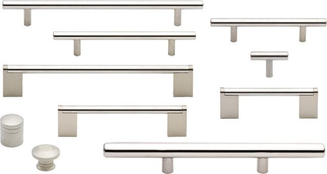 Kitchen:Exquisite Modern Kitchen Knobs 13 Painting Amazing Stainless Steel  Cabinet Hardware Suite Contemporary Home