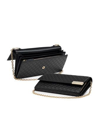 c413dc03cadd Gucci Dice Microguccissima Leather Chain Wallet Black $595 | The ...