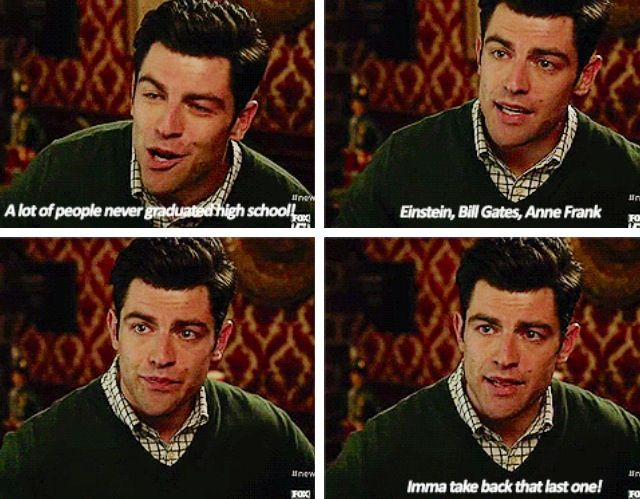 Schmidt New Girl Quotes Schmidt from New Girl everyone lol  L | Movies/Shows | New girl  Schmidt New Girl Quotes