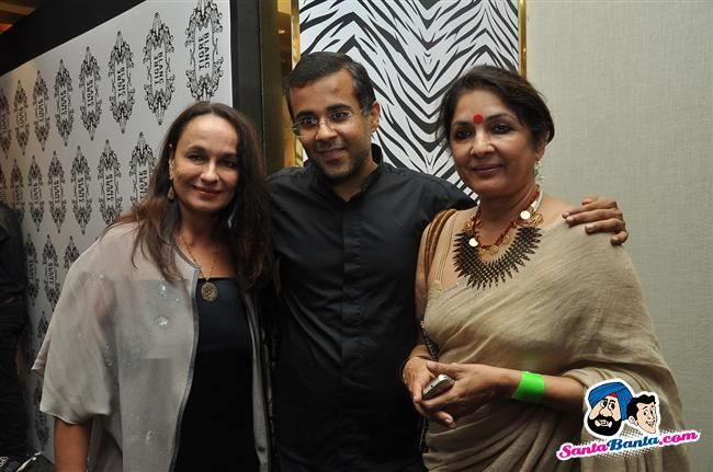 Soni Razdan, Chetan Bhagat and Neena Gupta Picture Gallery
