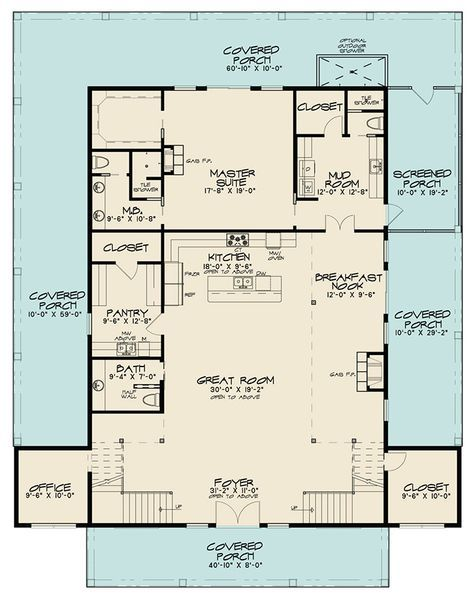 Country House Plan 8318