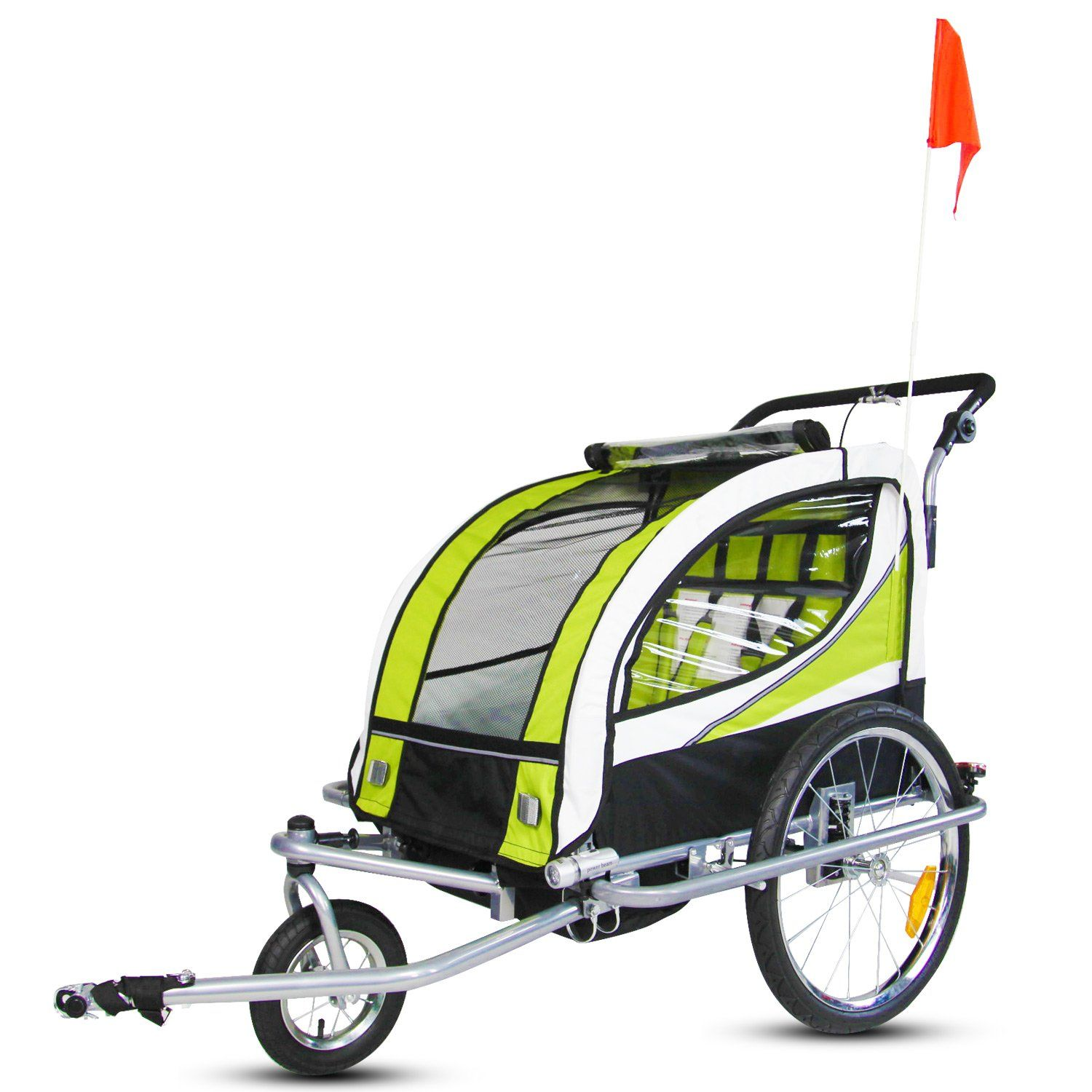 Kinbor New 2 in 1 Bicycle Pet Trailer Stroller for Pet Dog