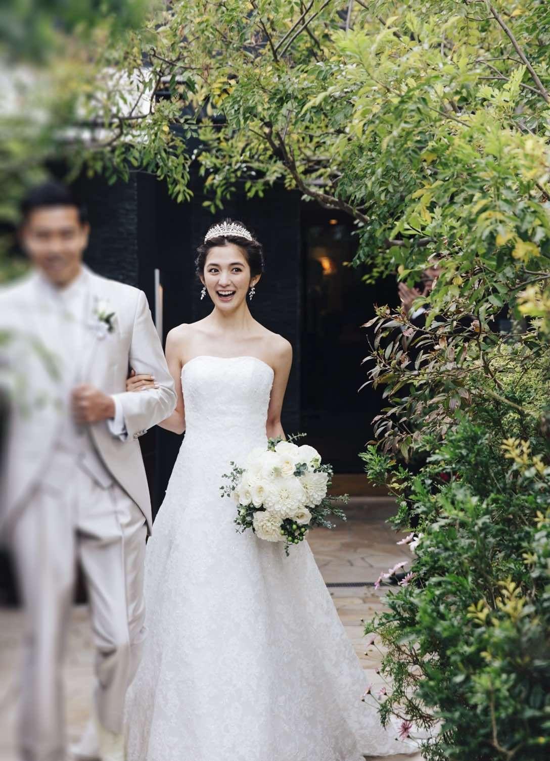 モデル 片桐ゆたか 結婚式を挙げるまでのマイルール10 ウェディングドレス ウェディング 挙式