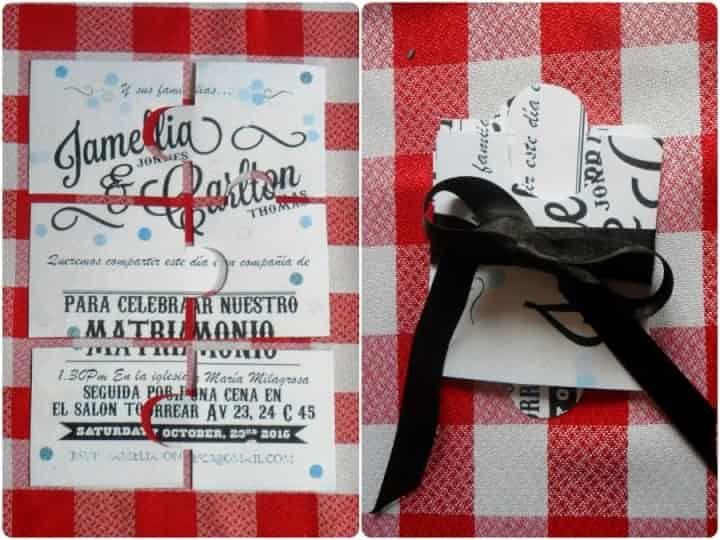 Partecipazioni Per Matrimonio Fai Da Te Inviti In Stile Puzzle Manualidades Diy Wedding Invitations Invitations