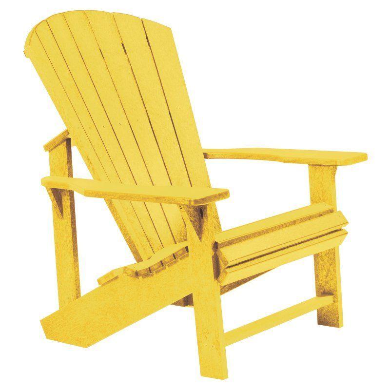 Outdoor Cr Plastic Generations Adirondack Chair Plastic