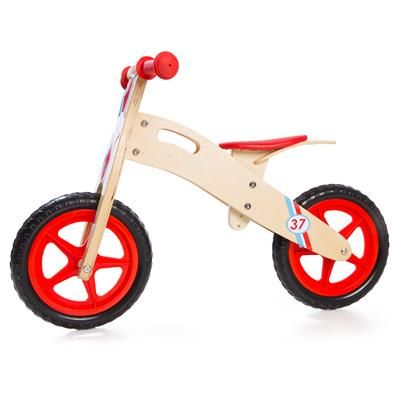 39 28cm Wooden Balance Bike From Kmart Wooden Balance Bike