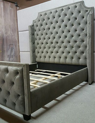 Pictures of Custom beds, headboards and walls | sofas capitoneados ...