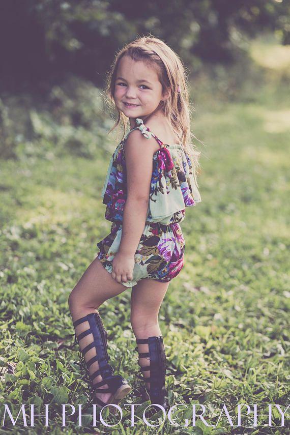 Sun-Kissed Sunsuit, PDF Sewing Pattern, Girls pattern, baby dress ...