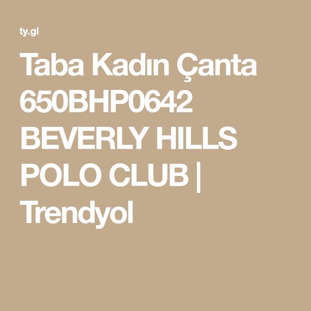 Taba Kadin Canta 650bhp0642 Beverly Hills Polo Club Trendyol Beverly Hills Polo Canta