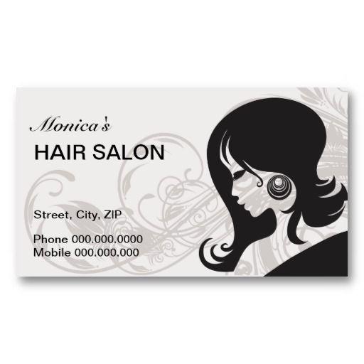 Hair Salon Business Card Choose Your Color Zazzle Com Salon Business Cards Hair Salon Business Hairstylist Business Cards
