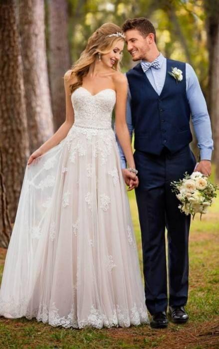 Vestido de novia Boho – vestidos de novia – peinados de novia – decoración del hogar – modelos de diamantes