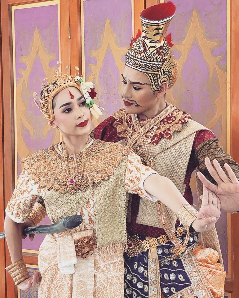 Khon performance thailand 2019 โขนรามเกียรติ์ ตอน ตามกวาง
