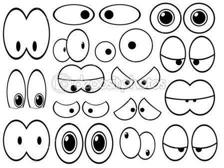 dibujar ojos graciosos - Buscar con Google | Dibujos | Pinterest ...