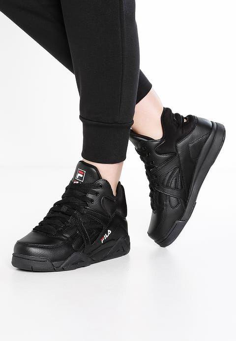 896bc58675d Schoenen Fila CAGE L MID - Sneakers hoog - black Zwart: € 129,95 Bij  Zalando (op 15-7-17). Gratis bezorging & retour, snelle levering en veilig  betalen!