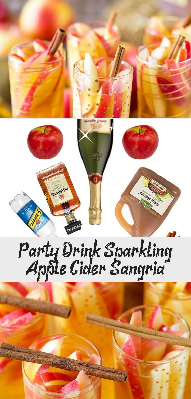Party Drink: Sparkling Apple Cider Sangria #applecidersangriarecipe Have you tried this recipe yet?! It's my FAVORITE! Sparkling Apple Cider Sangria! #FoodandDrinkParty #applecidersangriarecipe Party Drink: Sparkling Apple Cider Sangria #applecidersangriarecipe Have you tried this recipe yet?! It's my FAVORITE! Sparkling Apple Cider Sangria! #FoodandDrinkParty #applecidersangriarecipe
