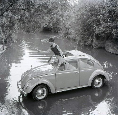 England, 1960's. Photo: Anonymous. S) Would love to have another Bug Beetle!!!