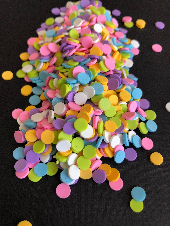 Slime - fake sprinkles - sprinkles - confetti sprinkles